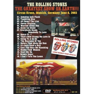 画像3: THE ROLLING STONES / THE GREATEST SHOW ON EARTH 【DVD】