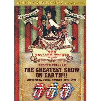 画像2: THE ROLLING STONES / THE GREATEST SHOW ON EARTH 【DVD】