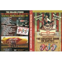 THE ROLLING STONES / THE GREATEST SHOW ON EARTH 【DVD】