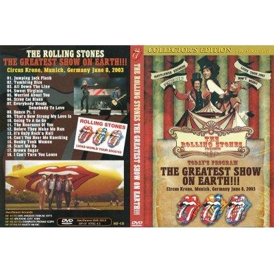 画像1: THE ROLLING STONES / THE GREATEST SHOW ON EARTH 【DVD】