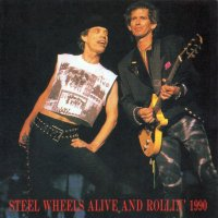 VGP-090 THE ROLLING STONES / STEEL WHEELS ALIVE AND ROLLIN 1990