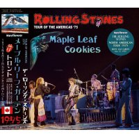 THE ROLLING STONES 1975 MAPLE LEAF COOKIES 2CD