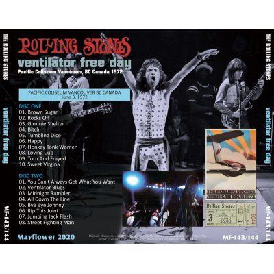 画像2: THE ROLLING STONES 1972 VENTILATOR FREE DAY 2CD