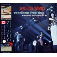 THE ROLLING STONES 1972 VENTILATOR FREE DAY 2CD