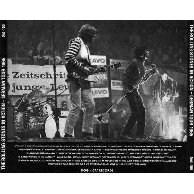 画像2: DAC-150 THE ROLLING STONES IN ACTION - GERMAN TOUR 1965 【1CD】