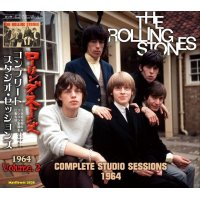 THE ROLLING STONES COMPLETE STUDIO SESSIONS 1964 2CD