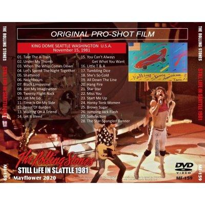 画像2: THE ROLLING STONES 1981 STILL LIFE IN SEATTLE DVD