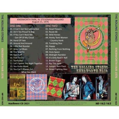 画像2: THE ROLLING STONES 1976 KNEBWORTH FAIR 2CD